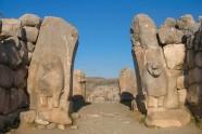 Ruiny Hattusy - stolicy Hetytów. Brama miejska.