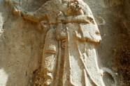 Płaskorzeźba króla hetyckiego Tudhalijasa w sanktuarium Yazılıkaya pod Hattusą.