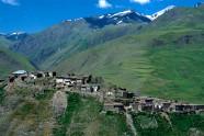 Osada Hinalug w Azerbejdżanie leżąca na wysokości 2300 m n.p.m.