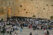 Jerozolima, Mur Zachodni - wieczór sabatowy