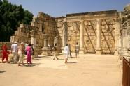 Ruiny synagogi w Kafarnaum